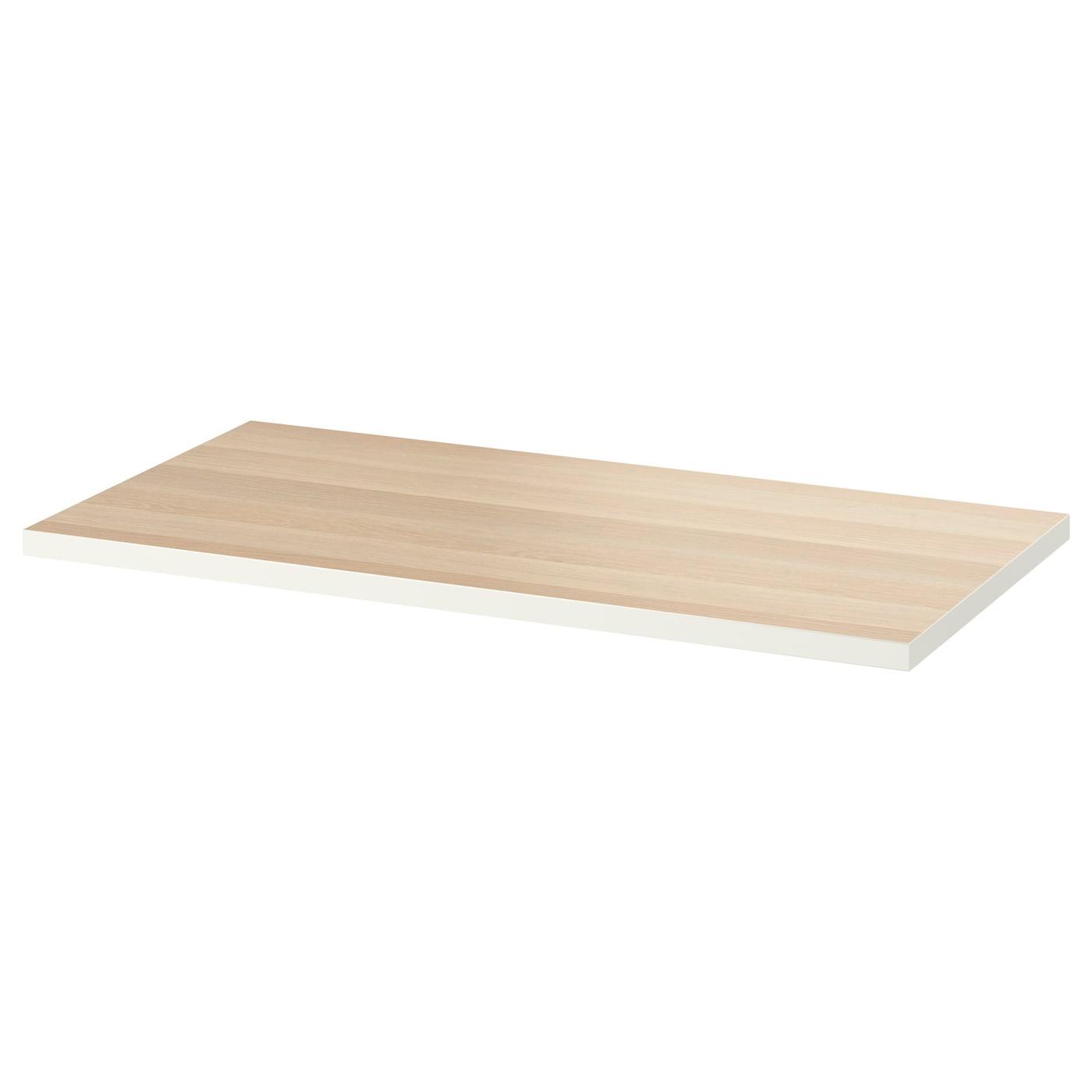 desk table brown review corner mega length linnmon top desks malaysia alex black ikea width