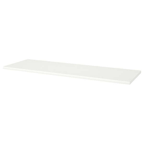 LINNMON Table top, white, 200x60 cm