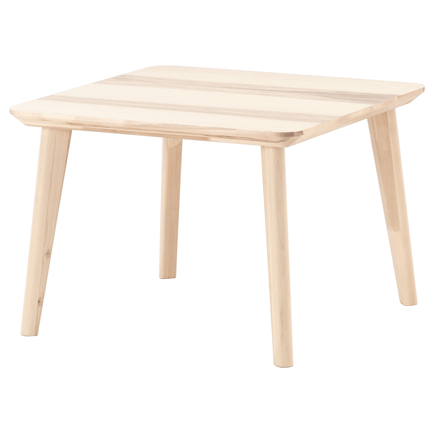 Lisabo Coffee Table Ash Veneer 70x70 Cm Ikea