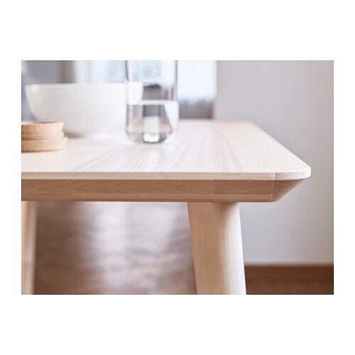 LISABO Coffee table Ash veneer 70x70 cm - IKEA