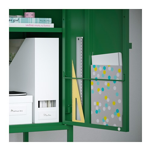 Lixhult storage combination green grey orange yellow 95x92 - Ikea ps armario ...