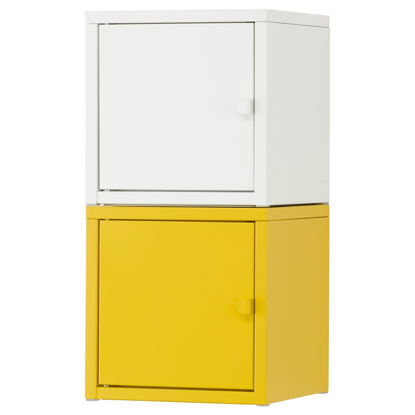 Lixhult Storage Combination White Yellow 25x50 Cm Ikea