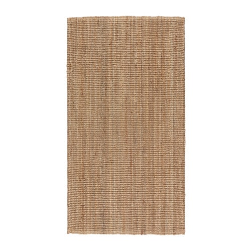 IKEA LOHALS rug, flatwoven Jute is a durable and recyclable material with natural colour variations.