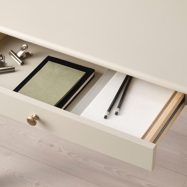 LOMMARP desk light beige 90 cm 54 cm 90 cm 55 cm 35 cm 7 kg