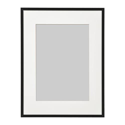 lomviken frame black 30 x 40 cm ikea. Black Bedroom Furniture Sets. Home Design Ideas