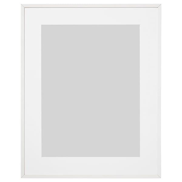LOMVIKEN Frame, white, 40x50 cm