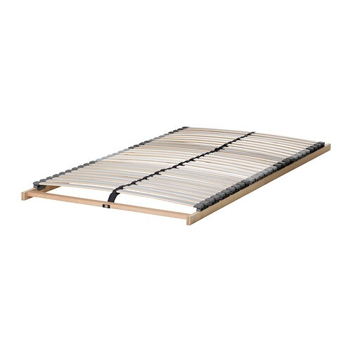 l nset slatted bed base 70x200 cm ikea