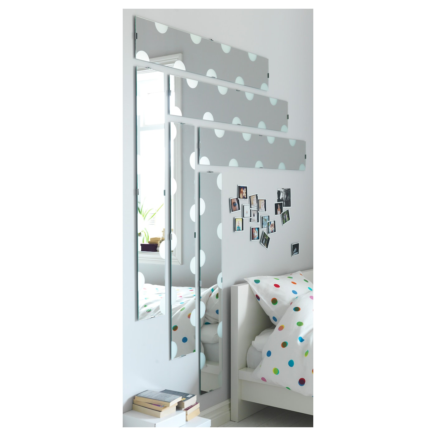 lundamo mirror 20 x 120 cm ikea. Black Bedroom Furniture Sets. Home Design Ideas