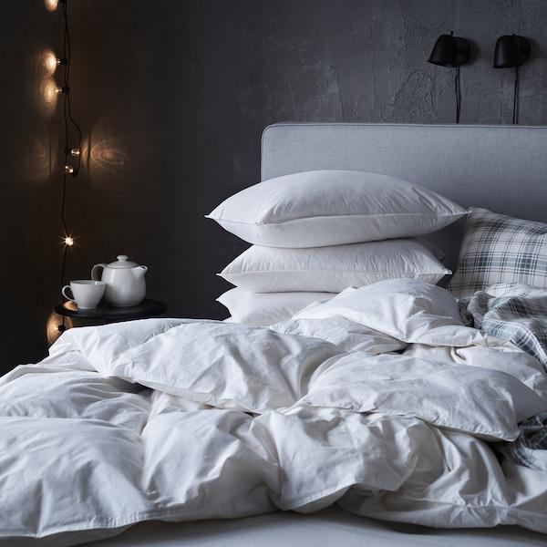 LUNDTRAV Pillow, high, 50x80 cm