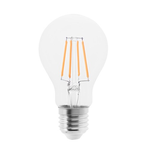 LUNNOM LED bulb E27 100 lumen Globe clear glass 60 mm  IKEA -> Wandleuchte Led Ikea