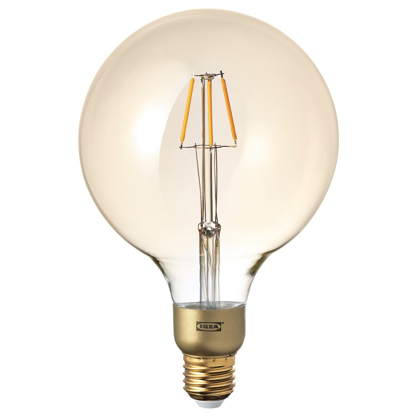 Light Bulbs Led Accessories Ikea To A Small Lightbulb With Just One Battery And Wire Lunnom Bulb E27 400 Lumen
