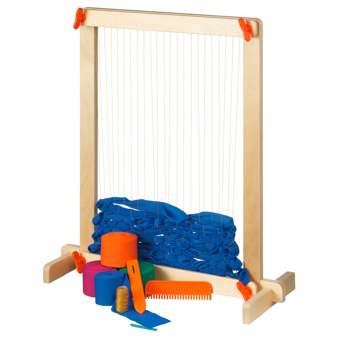 IKEA LUSTIGT 7-piece weaving loom set