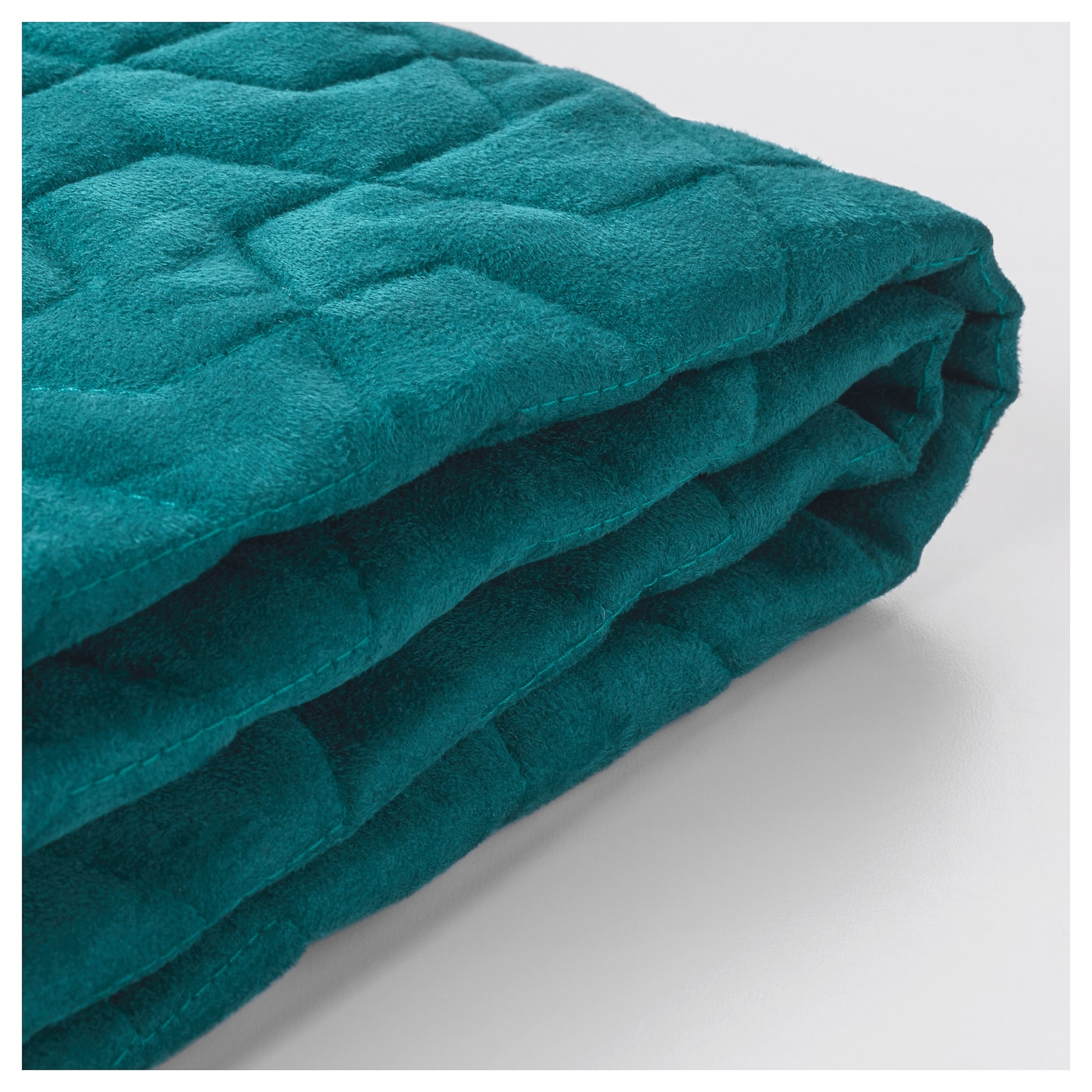 LYCKSELE Chair bed cover Vallarum turquoise IKEA