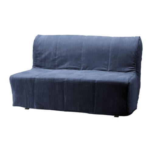 LYCKSELE HÅVET Two-seat sofa-bed IKEA Easy to keep clean; removable, machine washable cover.