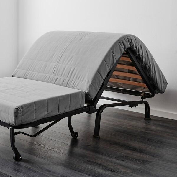Ikea lycksele single sofa bed cover