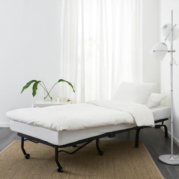 LYCKSELE LÖVÅS chair-bed Vallarum cerise 80 cm 100 cm 87 cm 60 cm 39 cm 80 cm 188 cm 188 cm 80 cm 10 cm