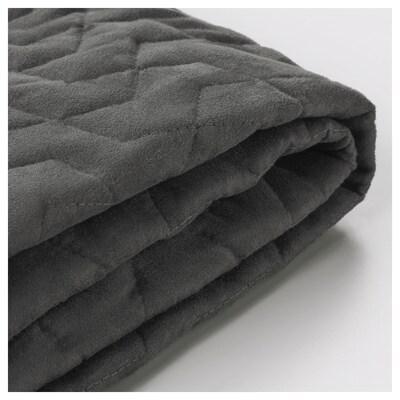 LYCKSELE Two-seat sofa-bed cover, Vallarum grey