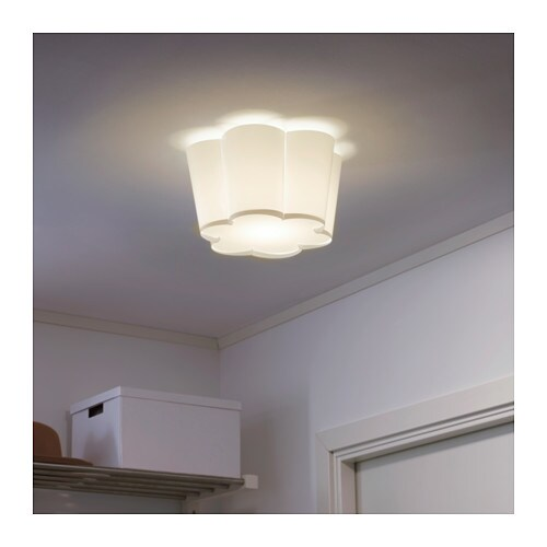 Lysboj Ceiling Lamp White Ikea