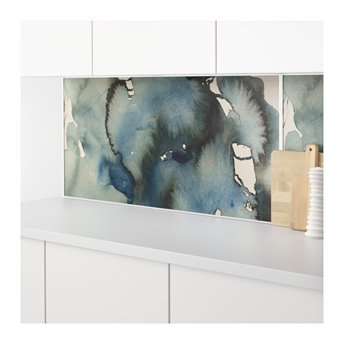 lysekil wall panel double sided clouds dots 120x55 cm ikea. Black Bedroom Furniture Sets. Home Design Ideas