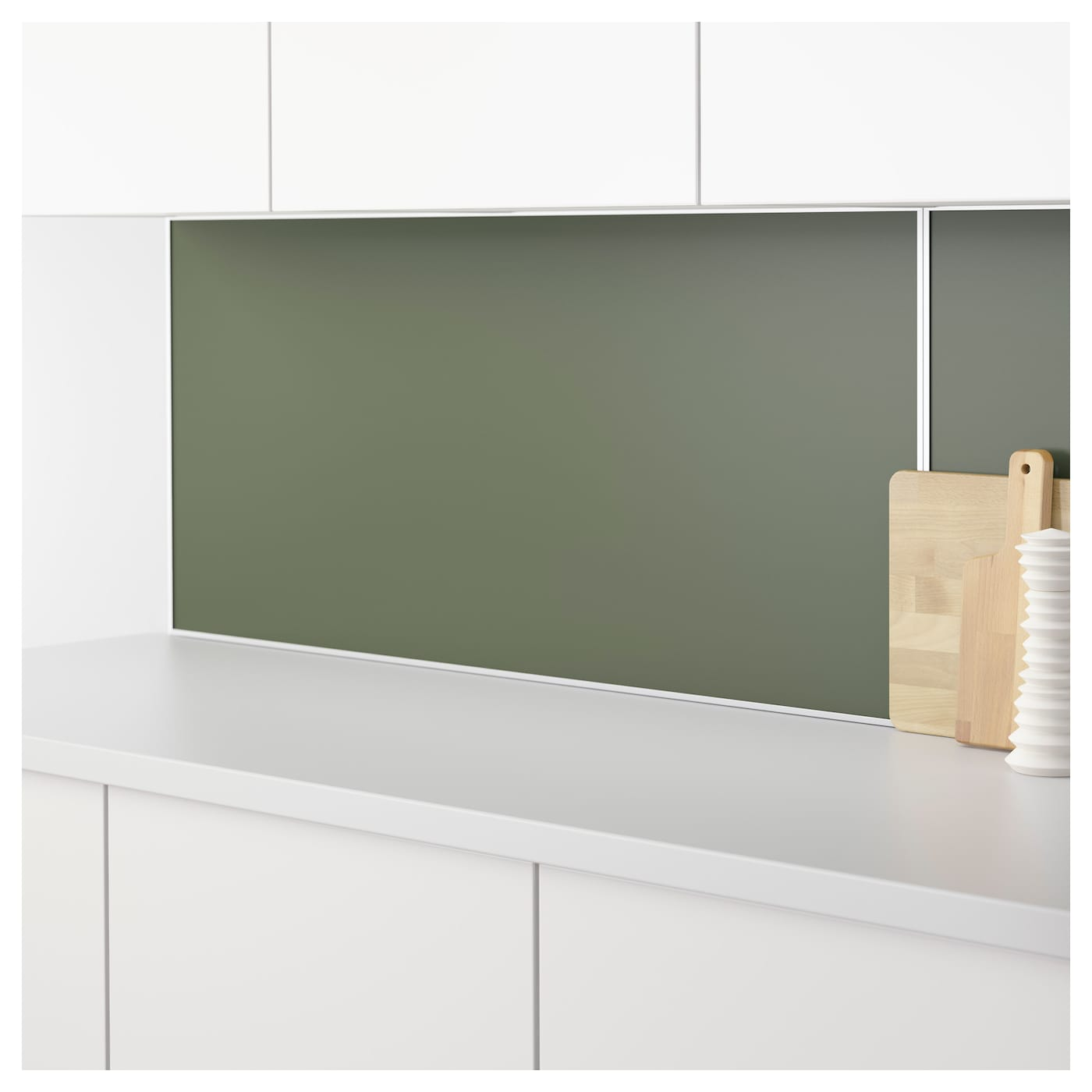lysekil wall panel double sided white green grey 120x55 cm ikea. Black Bedroom Furniture Sets. Home Design Ideas