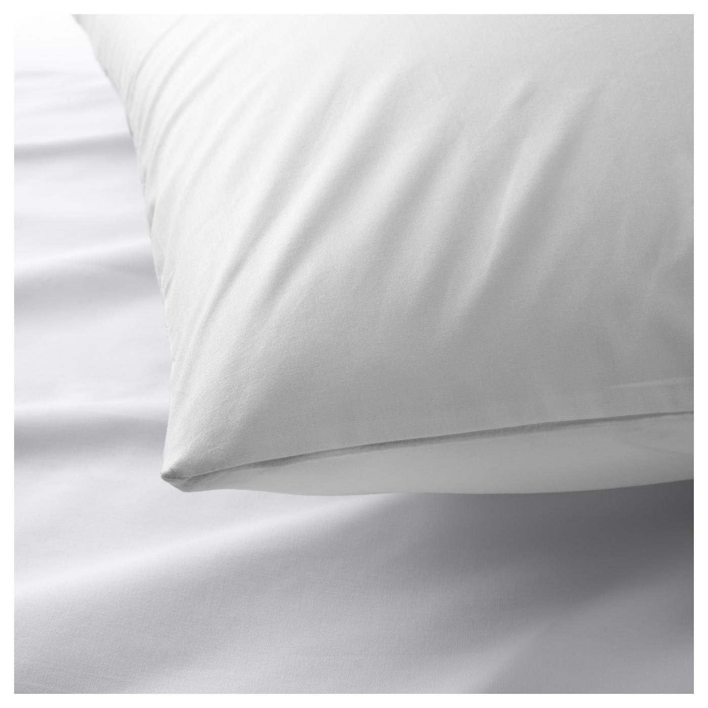 MNVIVA Pillowcase for memory foam pillow White 40x50 cm IKEA