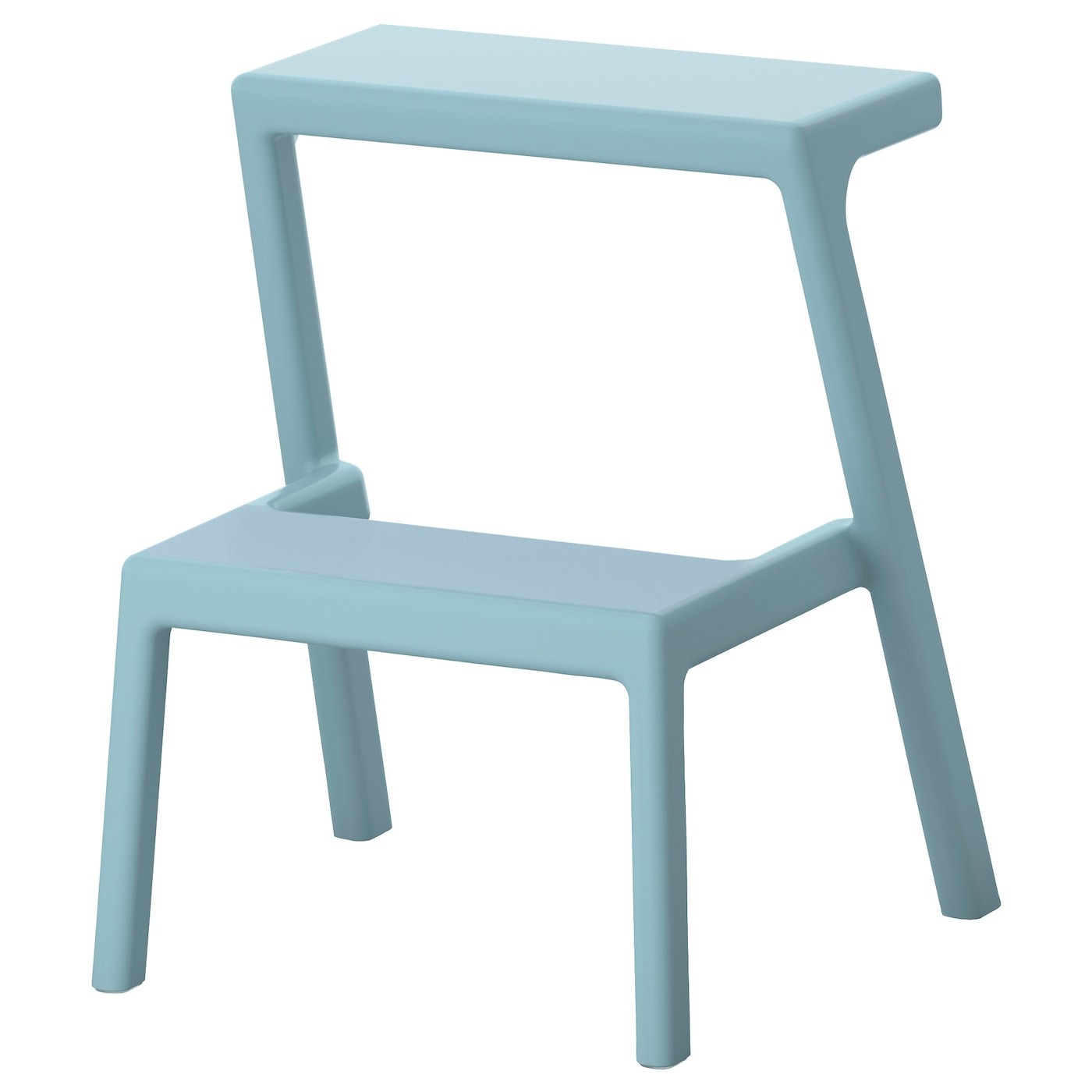 IKEA MÄSTERBY step stool Stackable so you can keep several on hand without taking more  sc 1 st  Ikea & MÄSTERBY Step stool Light blue - IKEA islam-shia.org