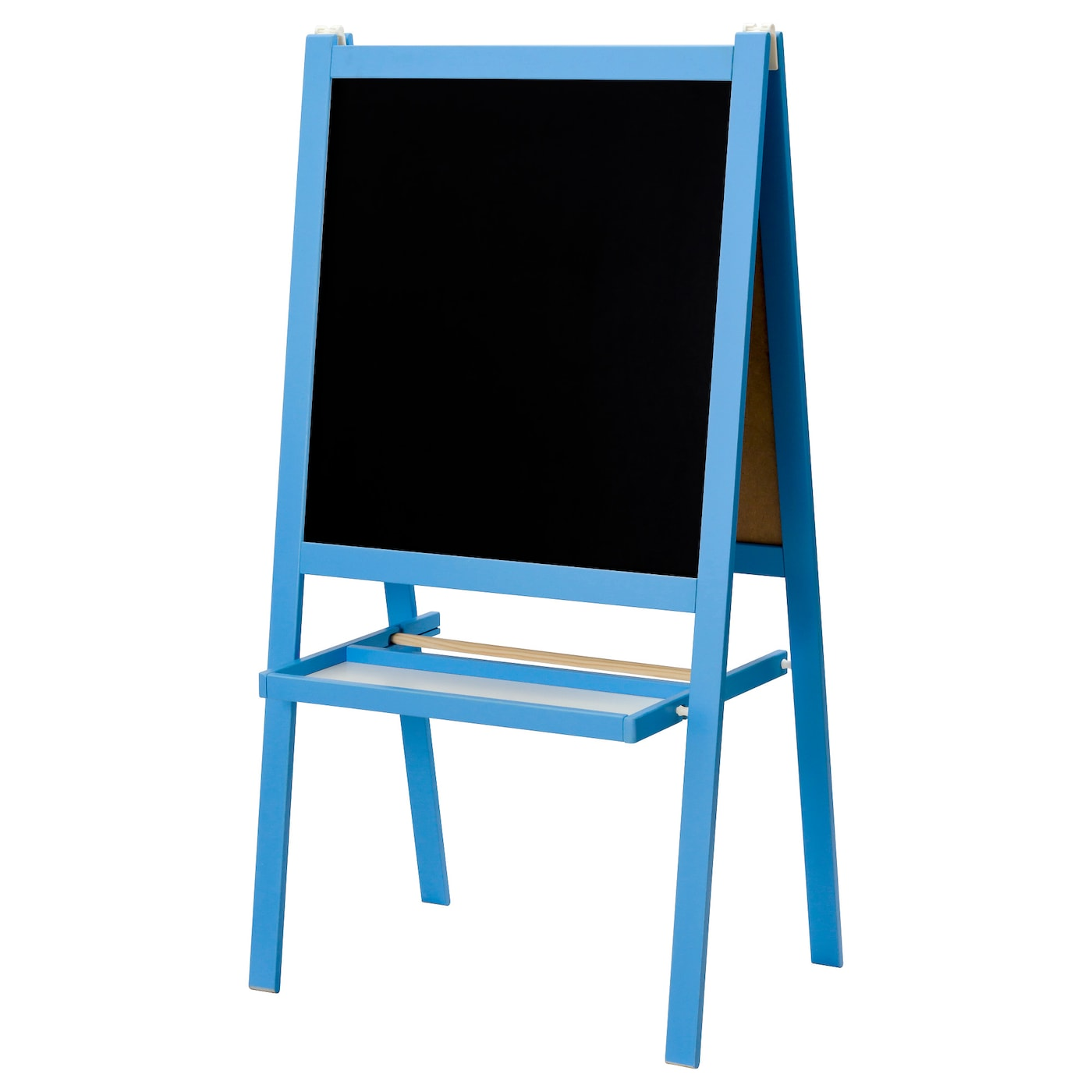 IKEA MÅLA easel Can be folded to save space when not in use.