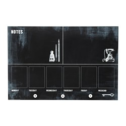 Wall art wall hangings ikea - Tableau noir magnetique ikea ...