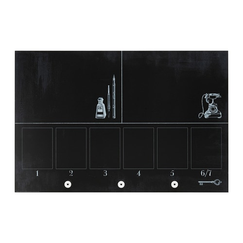 m larna blackboard planner 90 x 60 cm ikea. Black Bedroom Furniture Sets. Home Design Ideas