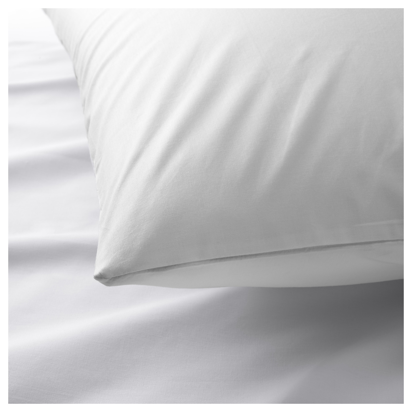 IKEA MÅNVIVA pillowcase for memory foam pillow Cotton, feels soft and nice against your skin.