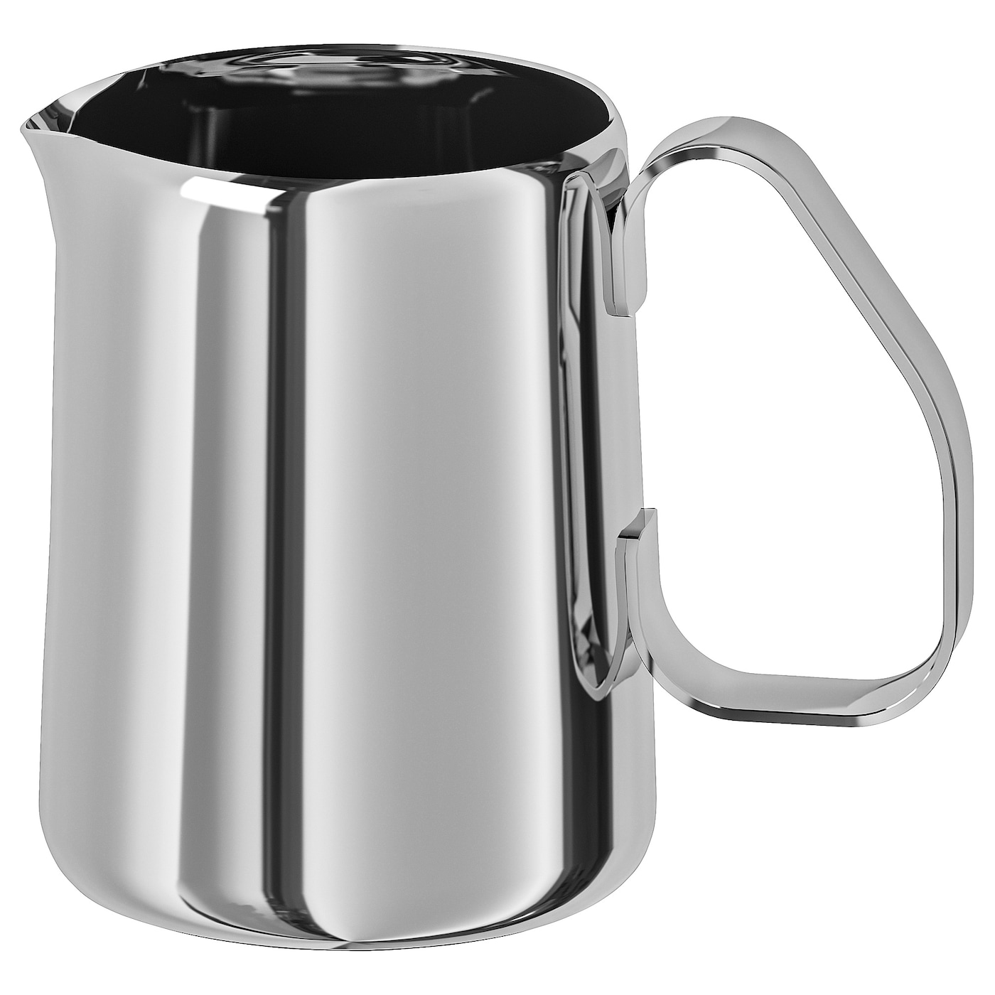 IKEA MÅTTLIG milk-frothing jug Made from stainless steel that is durable and easy to clean.