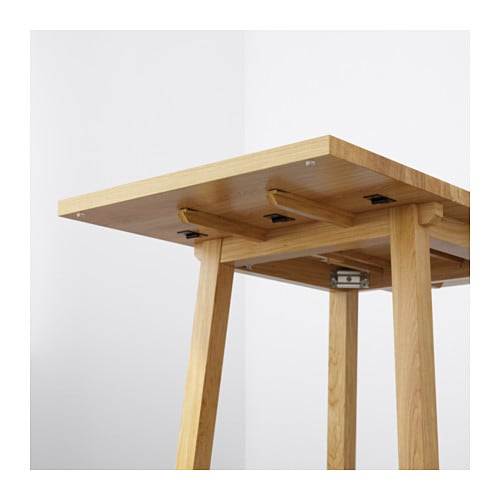 Ikea Folding Table Drop Leaf ~ IKEA MÖCKELBY drop leaf table The plank expression is enhanced by the