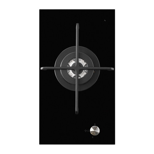 m jlig domino gas hob 1 burner black 29 cm ikea. Black Bedroom Furniture Sets. Home Design Ideas