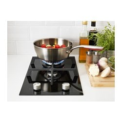 m jlig domino gas hob 2 burner black 29 cm ikea. Black Bedroom Furniture Sets. Home Design Ideas