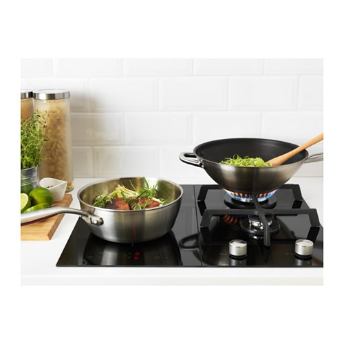 M jlig domino induction hob with booster black 29 cm ikea - Ikea plaque induction ...