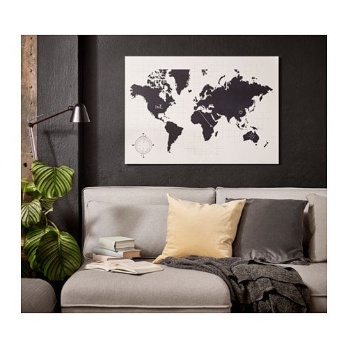 m lltorp blackboard planner plan your world 95x67 cm ikea. Black Bedroom Furniture Sets. Home Design Ideas