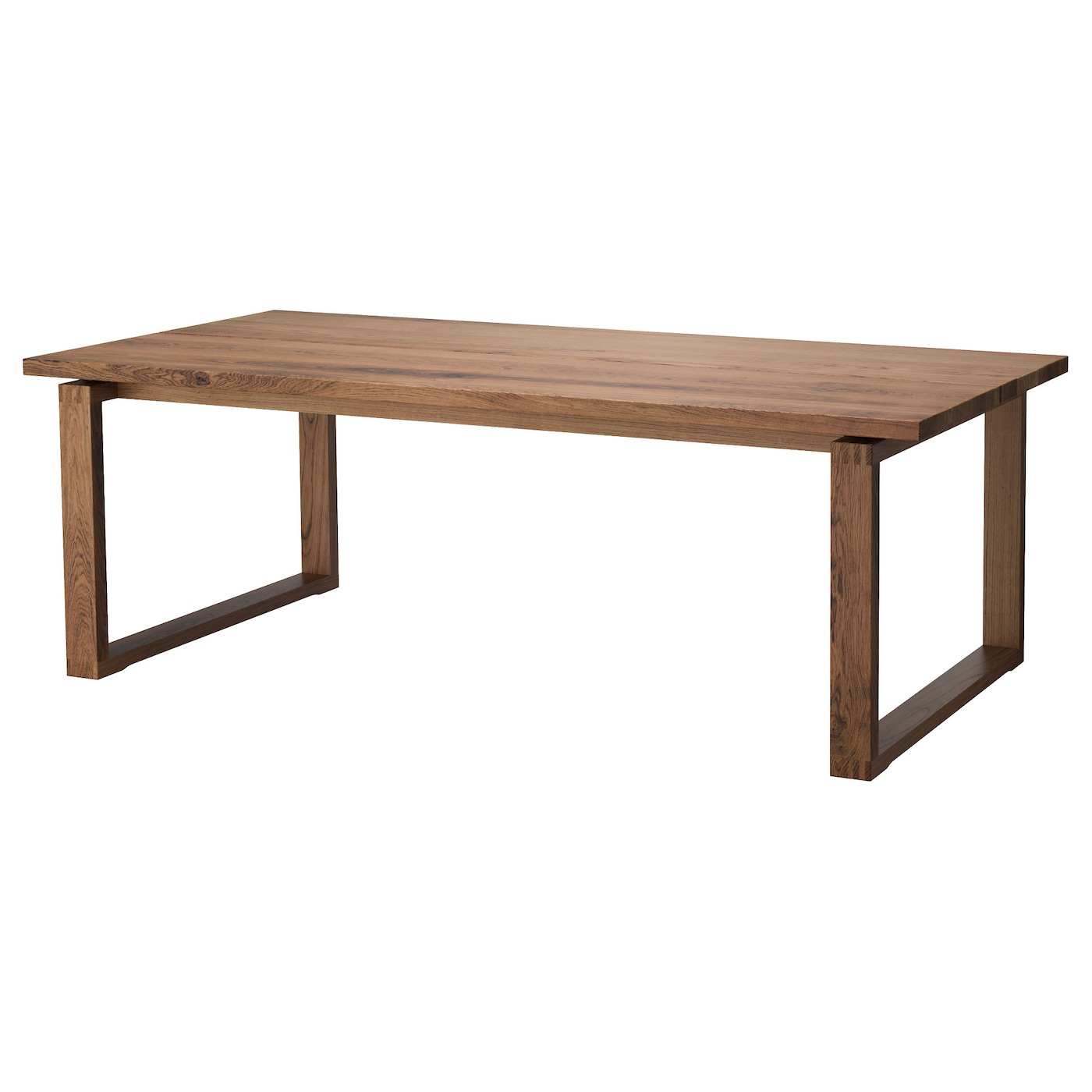 IKEA MORBYLANGA Table The Plank Expression Is Enhanced By Design On Edges