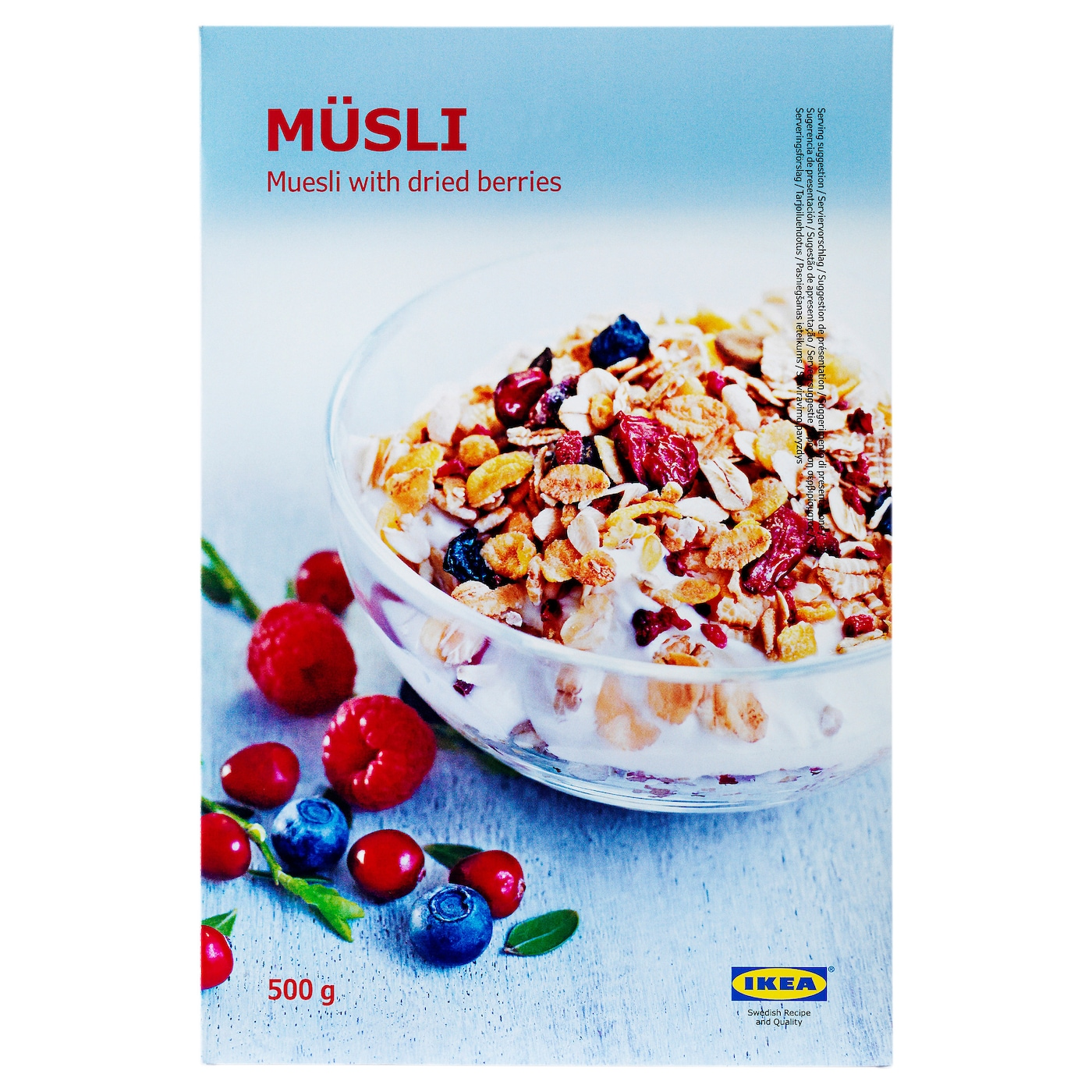 IKEA MÜSLI muesli with berries