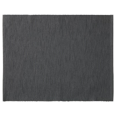 MÄRIT Place mat, black, 35x45 cm