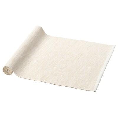 MÄRIT table-runner natural 130 cm 35 cm