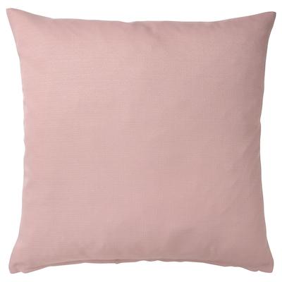 MAJBRÄKEN Cushion cover, light pink, 50x50 cm