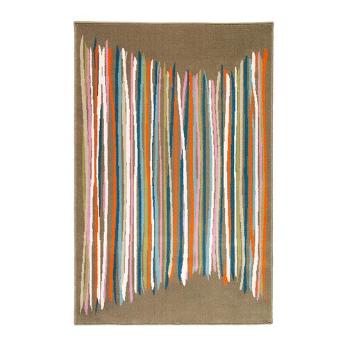 MALIN TRÅD Rug, low pile IKEA A blend of wool and nylon makes this rug soil-resistant, durable and soft.