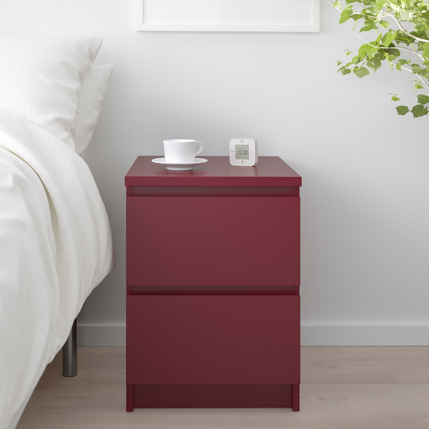 IKEA MALM bedside table 2 drawers | in