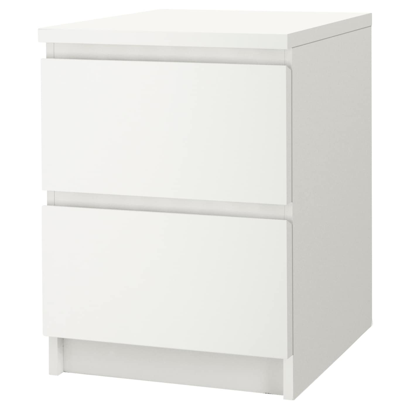 Used Bedside Tables Fair Malm Chest Of 2 Drawers White 40X55 Cm  Ikea Design Ideas