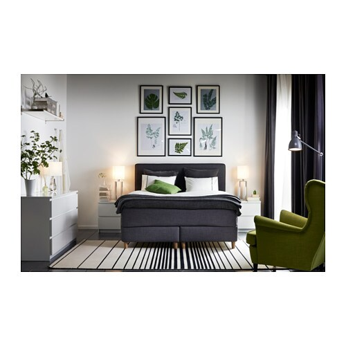 Malm chest of 2 drawers white 40x55 cm ikea - Commode noir laque ikea ...
