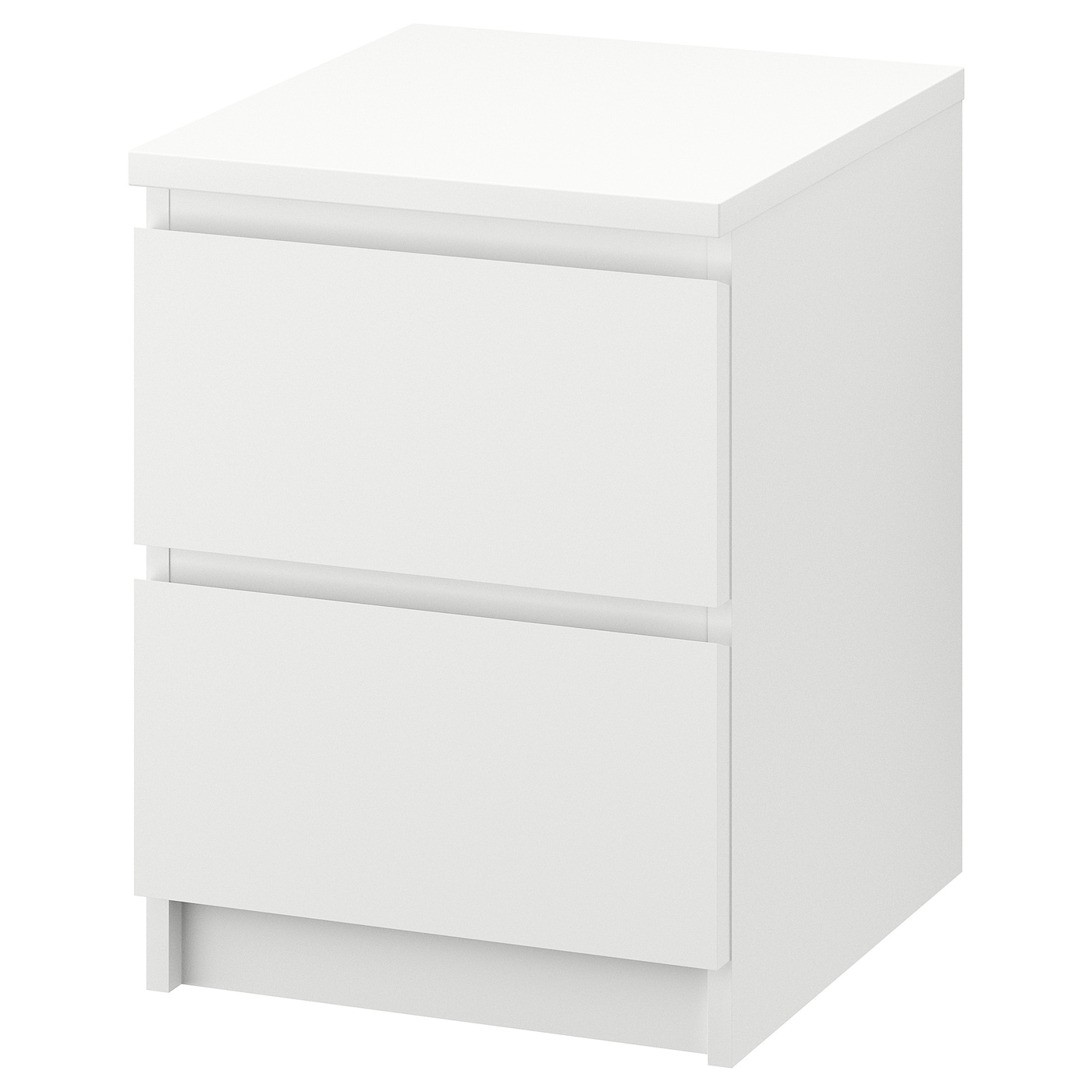 malm chest of 2 drawers white 40 x 55 cm ikea