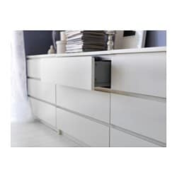 malm chest of 3 drawers white 80x78 cm ikea. Black Bedroom Furniture Sets. Home Design Ideas
