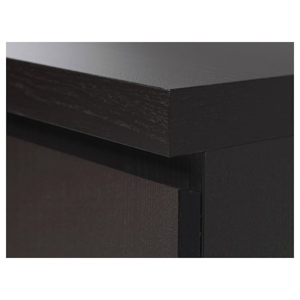 MALM desk black-brown 140 cm 65 cm 73 cm 50 kg