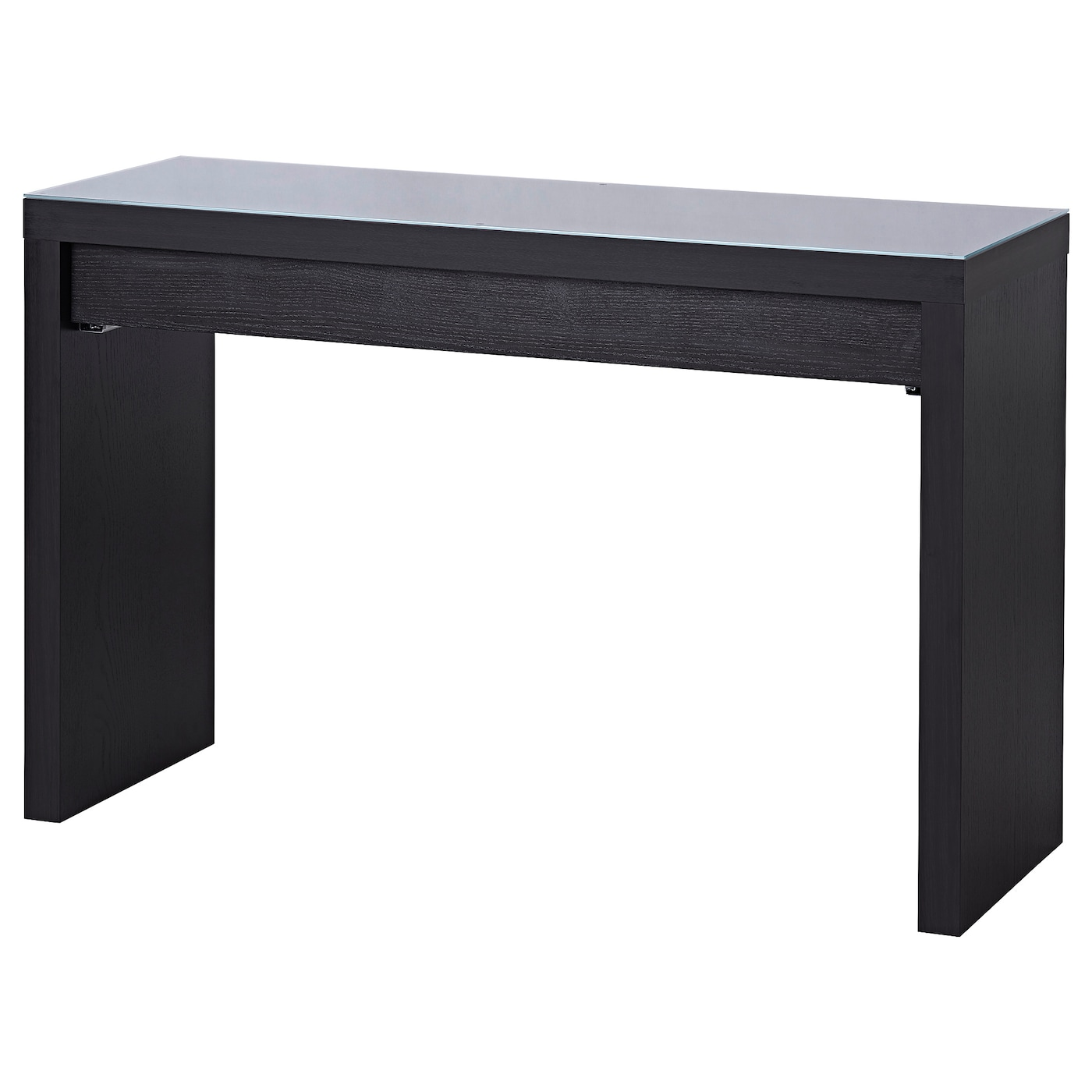 malm dressing table black brown 120 x 41 cm ikea. Black Bedroom Furniture Sets. Home Design Ideas