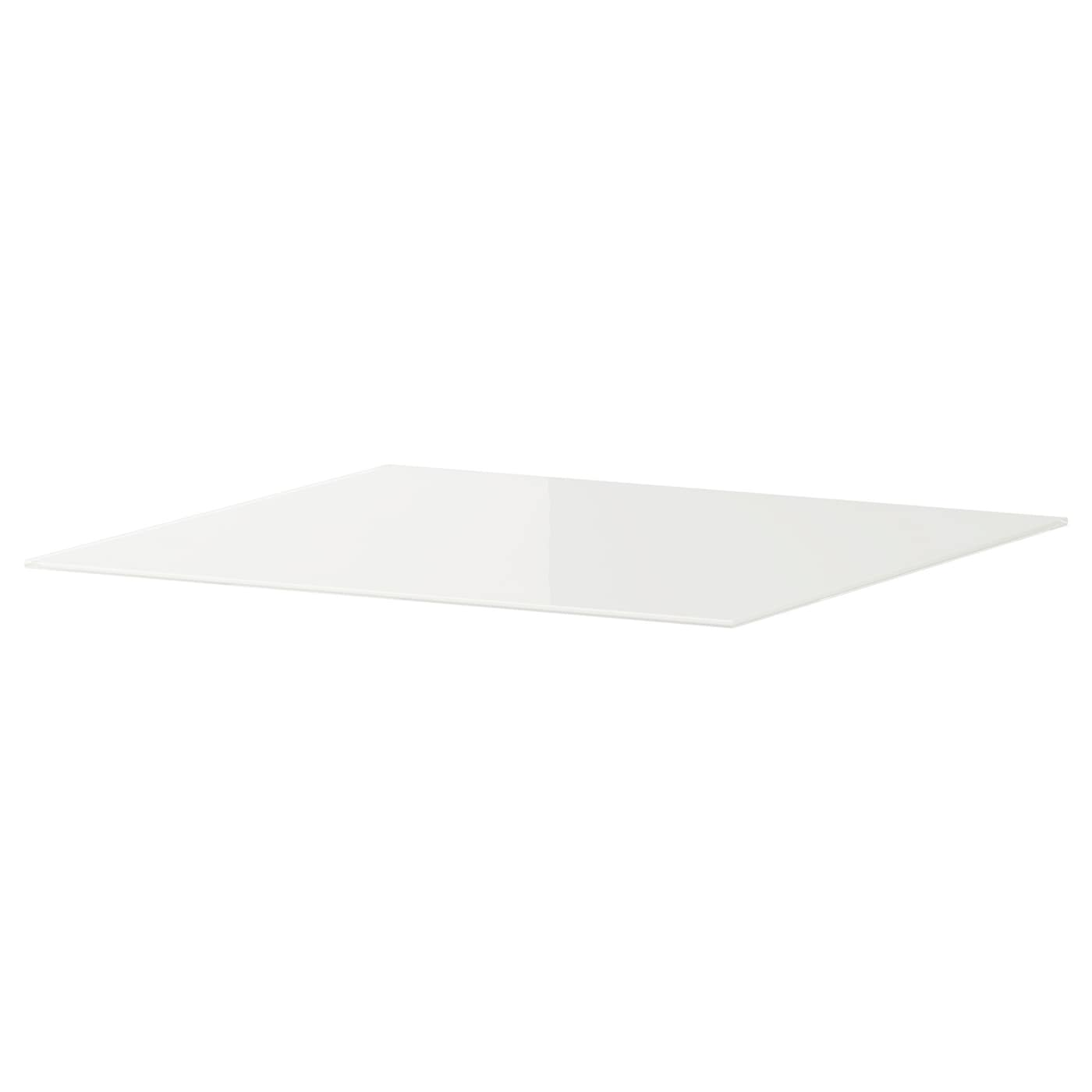 IKEA MALM glass top